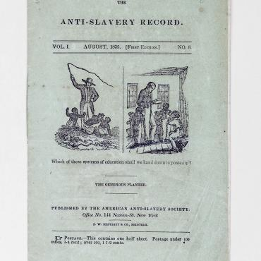 Anti-Slavery Publication Rallies Support