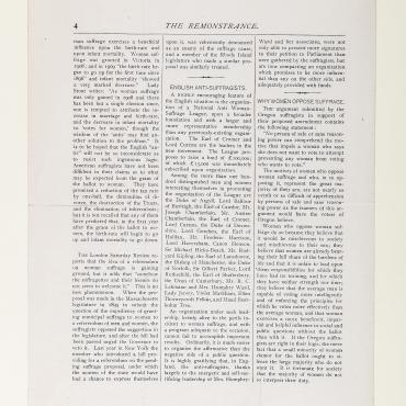 Anti-Suffrage Newspaper Argues Against Giving Women the Vote
