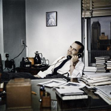 Edward R. Murrow, Host of CBS News Show 'See It Now'