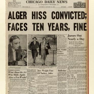 Alger Hiss Convicted of Perjury