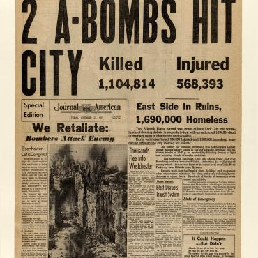 Articles Imagine Result of A-Bomb Attack on NYC