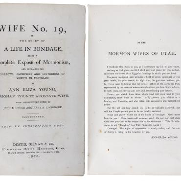 'Wife No. 19,' a Life in Bondage