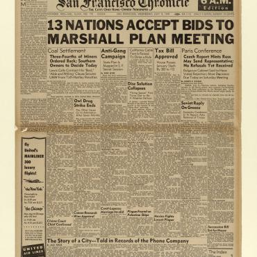 Nations Accept Invites to Marshall Plan Conference