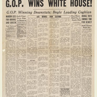 GOP Wins White House in 1948