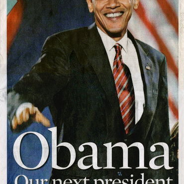 Obama Elected First Black President of U.S.