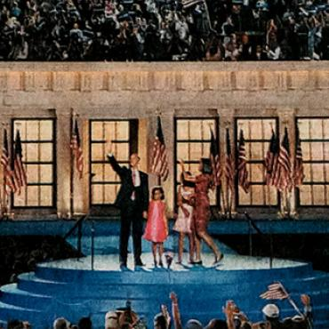 Obama Accepts Democratic Nomination, 2008