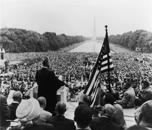 King Leads Prayer Pilgrimage for Freedom, 1957
